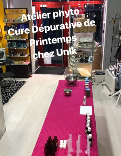 Atelier cure dépurative de printemps