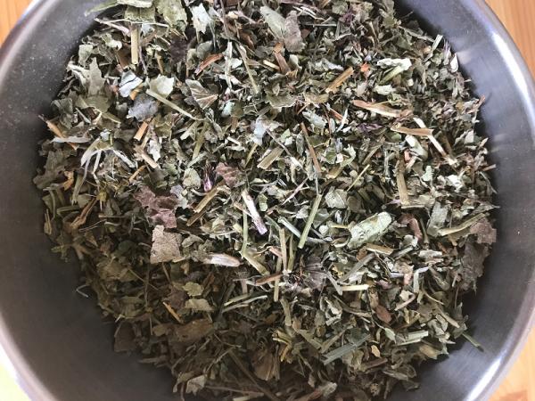 Basilic feuilles bio