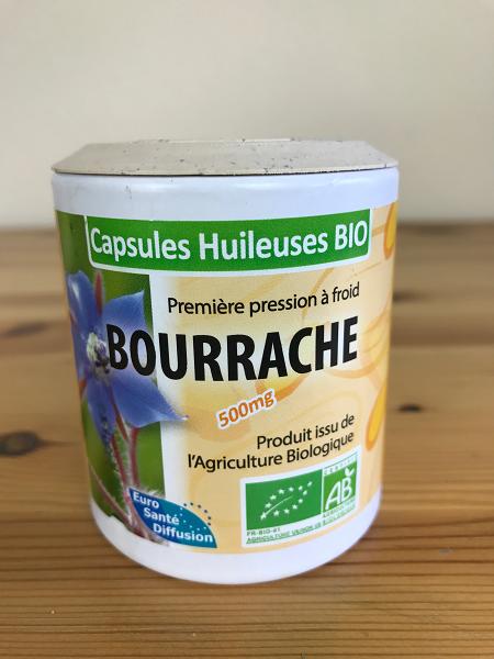 Bourrache bio en capsules huileuses