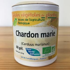 Chardon marie bio 200 mg en gélule