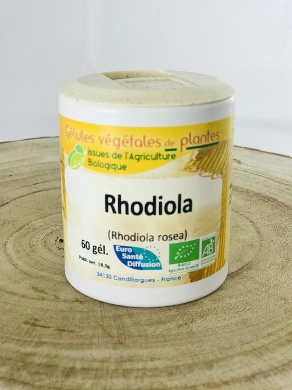 Gélules végétales de rhodiola bio