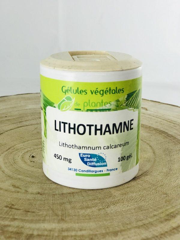 Gélules végétales de lithothamne