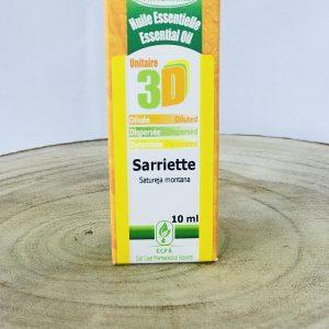 HE3D huile essentielle dynamisée diluée dispersée