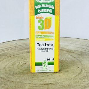 Huile essentielle dispersée diluée dynamisée de tea tree