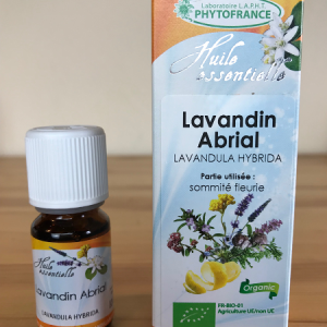 huile essentielle de lavandin abrial bio