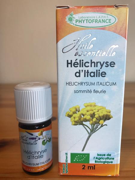 Huile essentielle d'hélichryse italienne bio