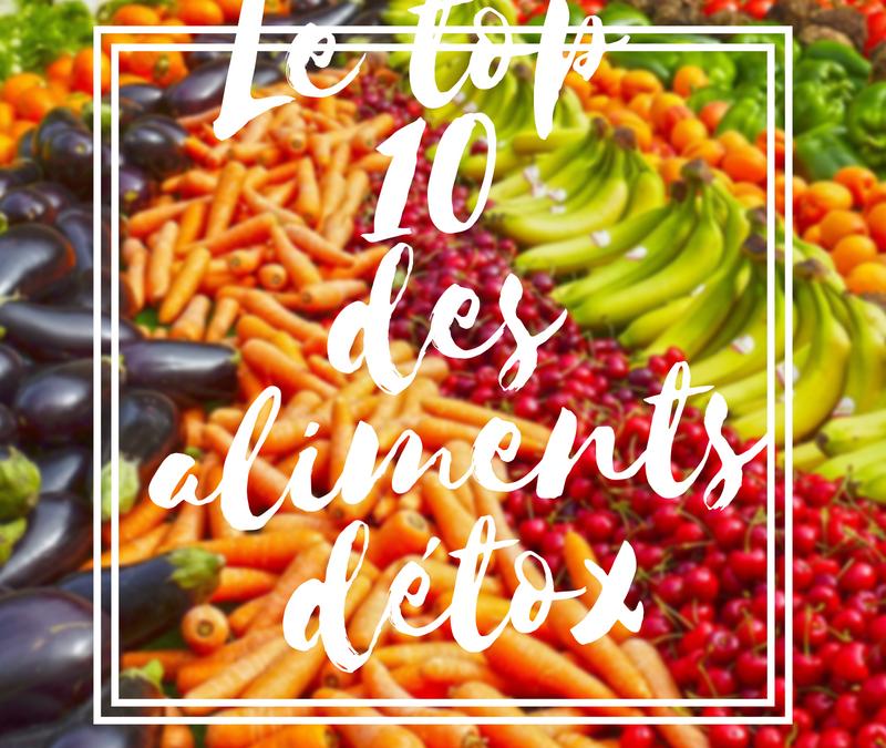 Le top 10 des aliments détox