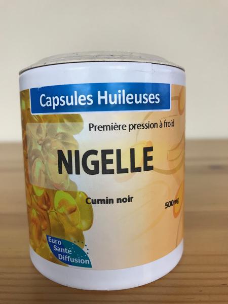 Nigelle en capsule huileuse Bio
