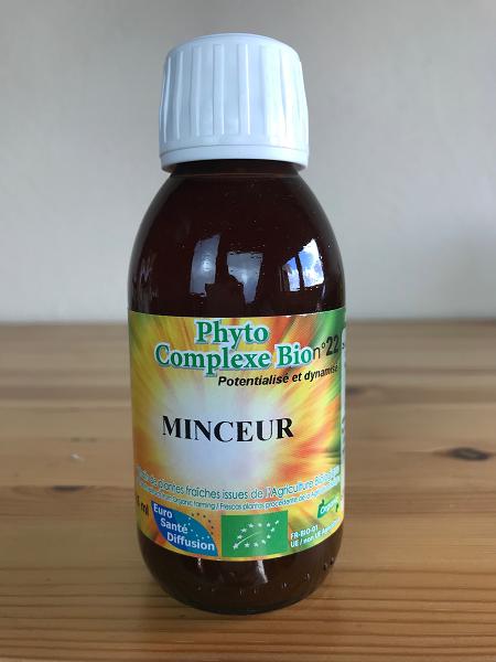Extrait hydro-alcoolique de plantes pour maigrir
