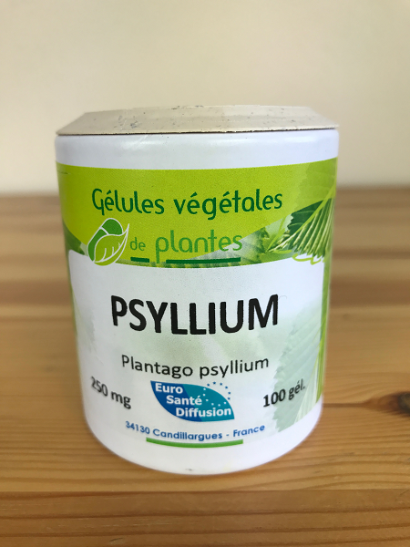 Gélule de psyllium