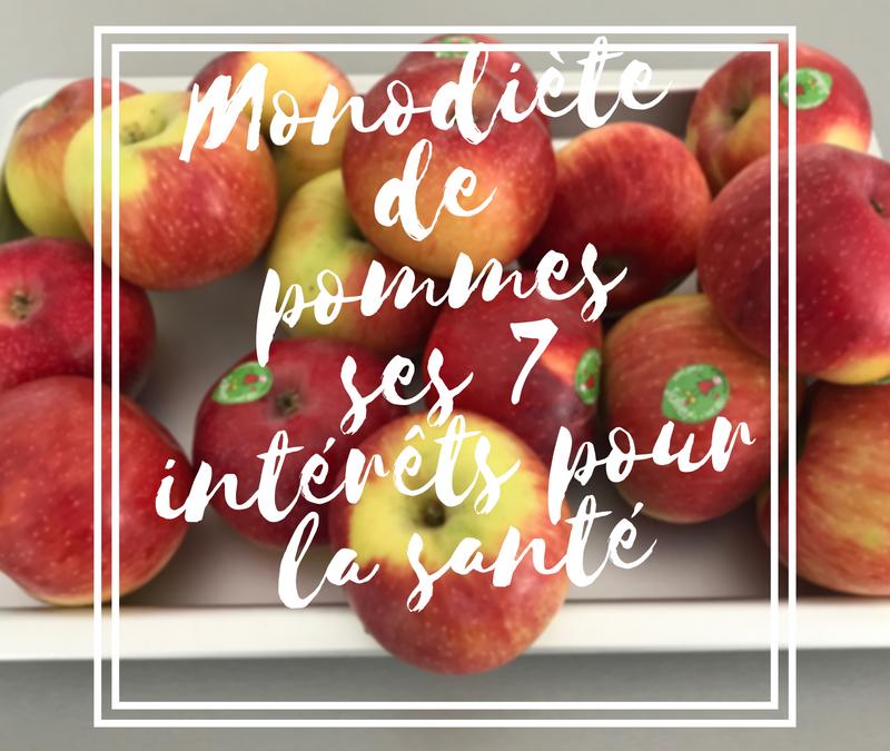 Monodiète de pommes ses 7 intérêts pour la santé