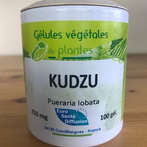 Gélules de kudzu de 250 mg