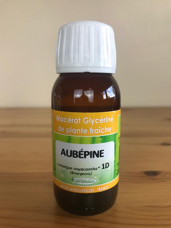 Macérat glycériné d'aubépine bio