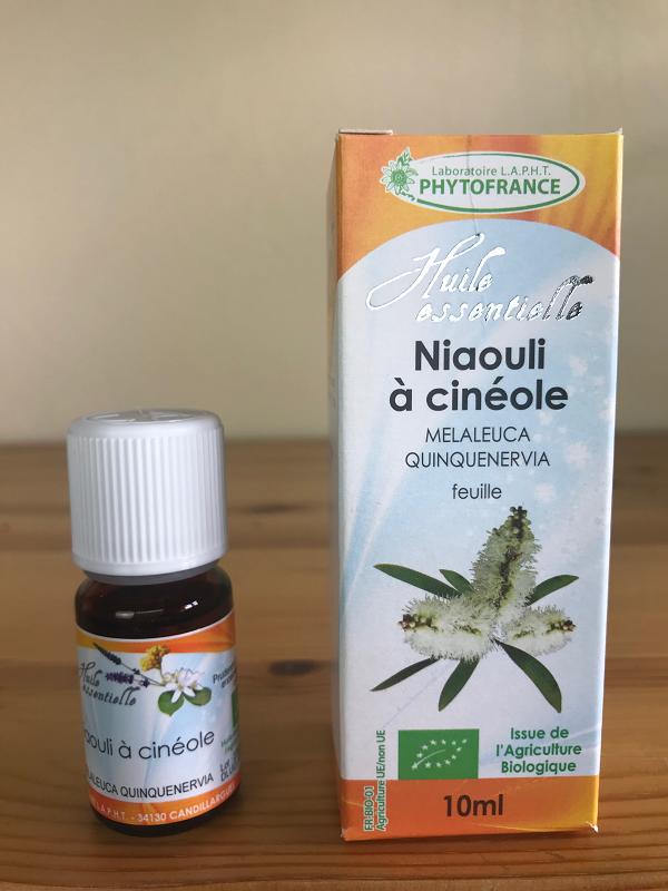 Huile essentielle de niaouli à cinéole bio