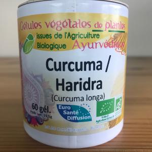 Gélules de Curcuma Harida 250mg