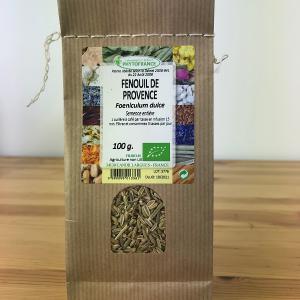 Sachet de fenouil de Provence semences entières bio de 100g