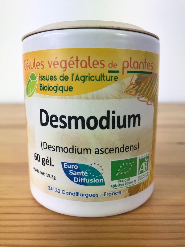 Gélules de desmodium bio dosée à 180mg de plante