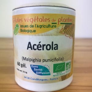 Acérola bio en gélule de 330 mg