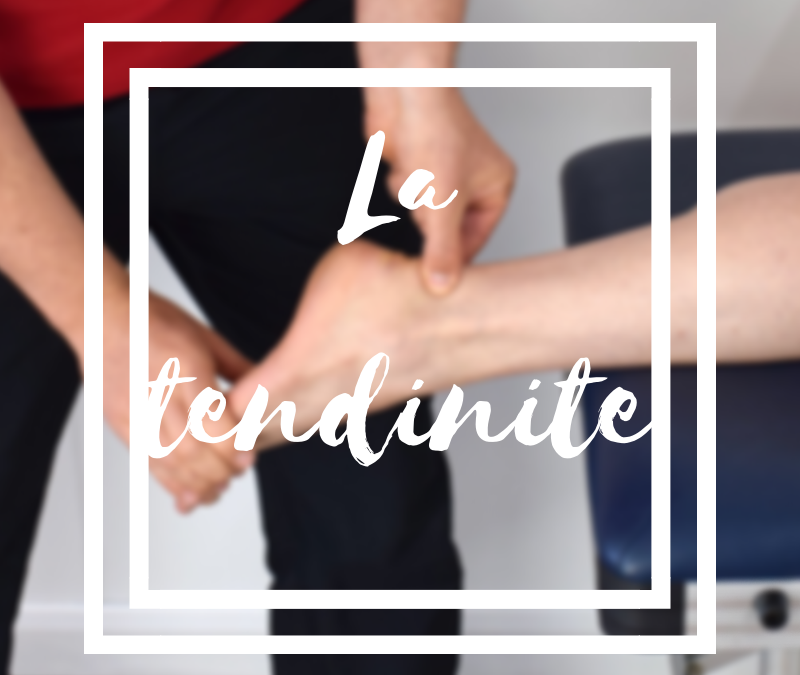 La tendinite ou l'inflammation du tendon