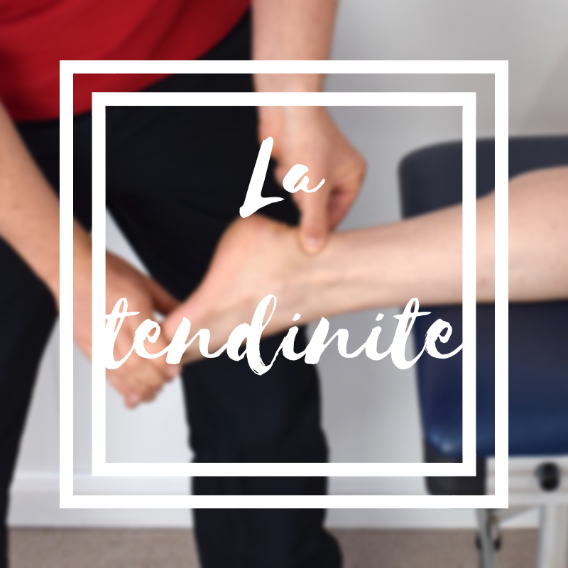 La tendinite ou l'inflammation du tendon