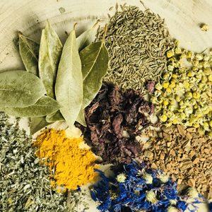 Herbes sèches pour infusion et décoction