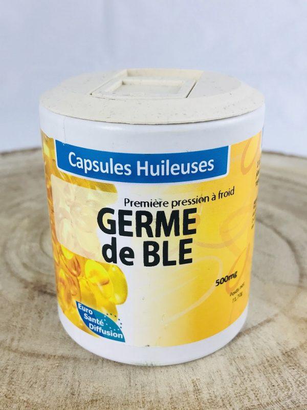 Germe de blé en capsules huileuses