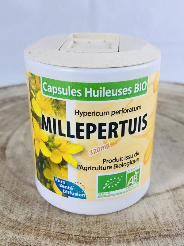 Millepertuis en capsules huileuses
