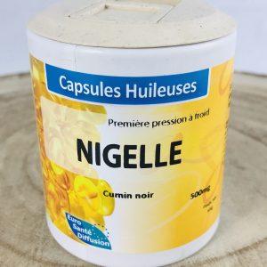 Nigelle en capsules huileuses bio