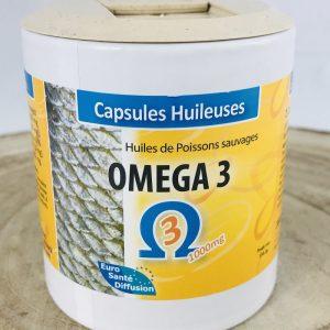 Oméga 3 en capsules huileuses
