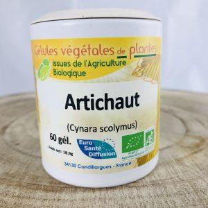 Artichaut Cynara scolymus en gélules bio