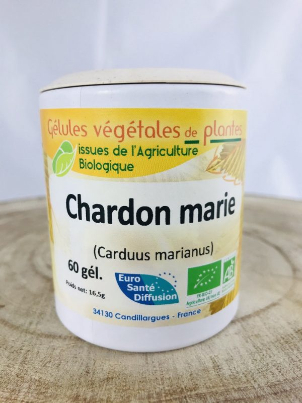 Chardon marie en gélule bio de 200 mg