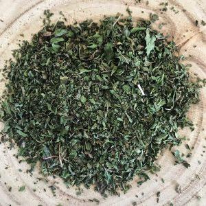 Menthe poivrée feuille coupée bio