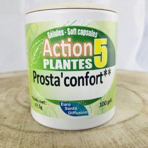 Complexe de plantes médicinales pour le confort de la prostate
